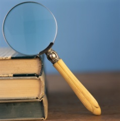 magnifying glass RF Getty