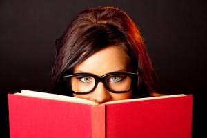 getty rf book girl