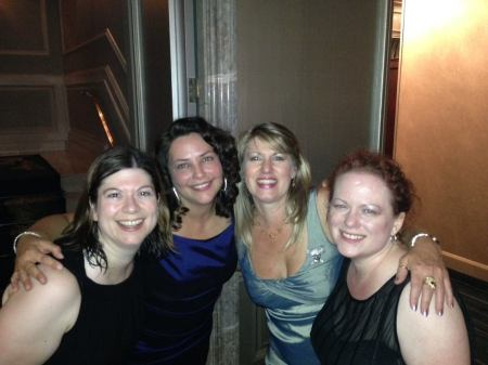 Rubies at the Ritz. Addison, Liz and Dani