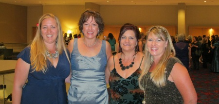 My roommates. These rowdy girls are da bomb. Thanks for the memories Eliza Knight, Jennifer Jakes, and Kim Killion!