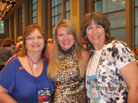 Amazing friends and chapter mates, Jaye Garland and Jan Nash