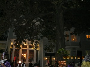 Elms Mansion courtyard - perfect for a masquerade party