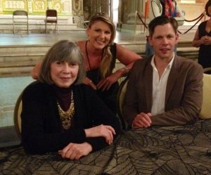 Anne Rice and her son Christopher. Truly an honor to meet them both.