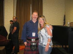 Author and Scottish extraordinaire EA Channon