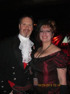 EA Channon and his lovely wife Paulette