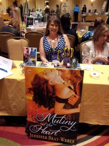 It all culminates to a giant book signing. I just adore my huge book poster!