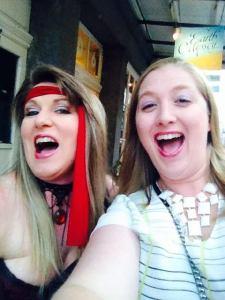 They take selfies. Eliza Knight made a great crawl buddy.