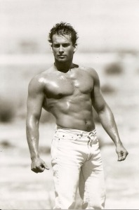 OK- This was just because I like him...but he does have a great belly button!