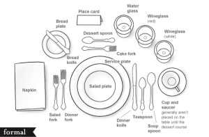 formal table setting 2 - cc- flickr