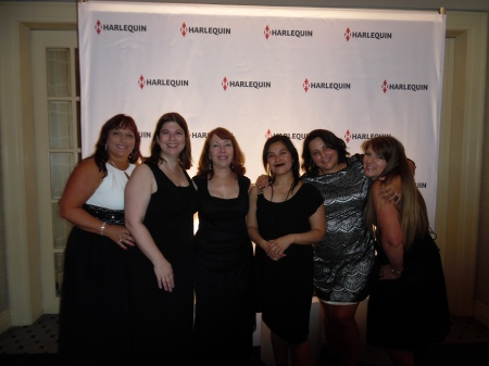 Feeling like a celebrity with my Ruby Sisters in the Starlight Roof at the Harlequin Ball.
