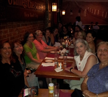A dinner with old friends, the Ruby Slippered Sisterhood, is a conference tradition.