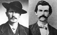 Doc Holliday and Wyatt Earp