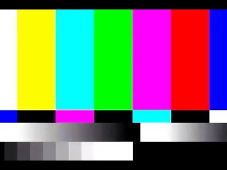 cc-rf - tv test pattern