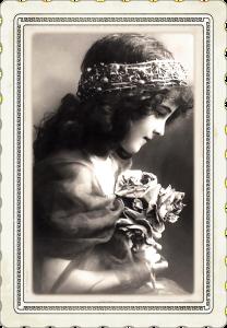 RF public domain victorian girl